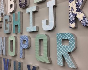3D Nursey Alphabet