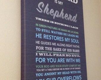 Psalm 23 Wall Art