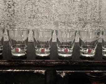 "Jameson Irish Whiskey Lowball Rocks Glasses Set Of 6 ""old fashioned"""