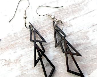 Geometric Earrings - Triangles