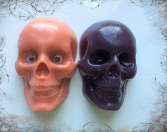 Skull Soap,Gothik Favor,Skull w/Moving Eyes,Gag Gift,Halloween Gift,Party Favor,