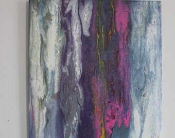 Abstract Drip Painting