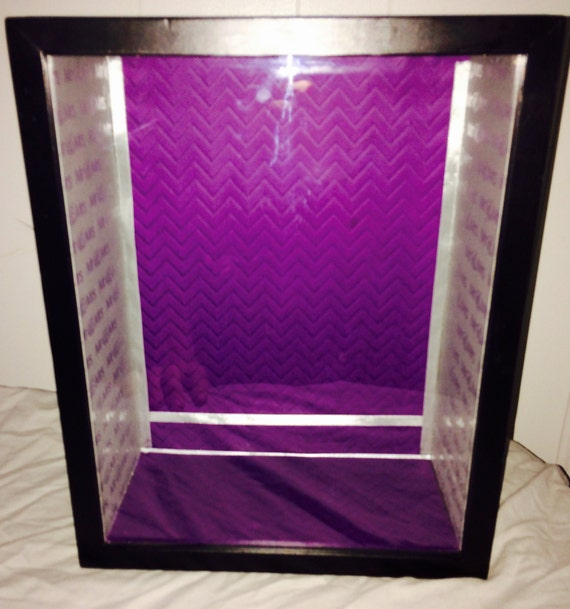 """Shadow Box Display Made to Order 11x14 5"""" deep Treasure Memories Wedding Sweet 16 Special Event"""