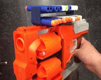 Nerf gun blaster 20 dart holder for regular darts