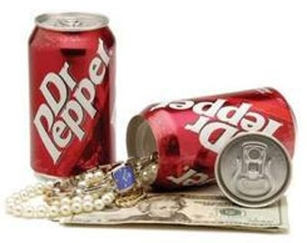 Soda Safes / Money & Jewelry Safes / Stash Safes / Diversion Safes / Gift Ideas