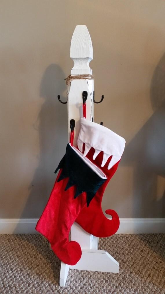 stocking holder stand. Black Bedroom Furniture Sets. Home Design Ideas