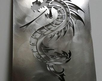 Metal Dragon Wall Decor