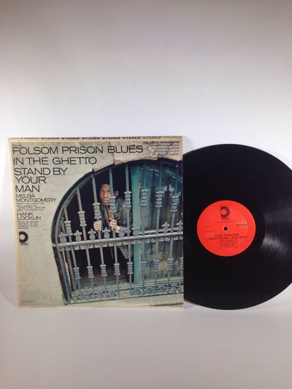 Folsom Prison Blues in the Ghetto Stand by Your Man LP SDLP-651 Melba Montgomery & Hank Locklin