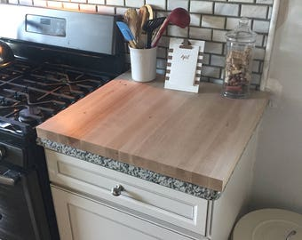 Large Maple Counter top Butcher Block