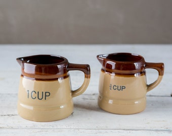 Vintage measuring cups-Food Photography Prop