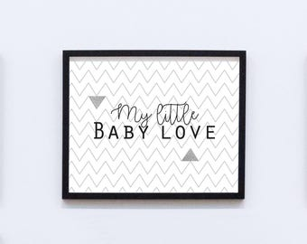 Deco frame - My Little Baby Love