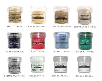 Ranger Embossing Powder 1 Oz (choose Your Desired Colour)