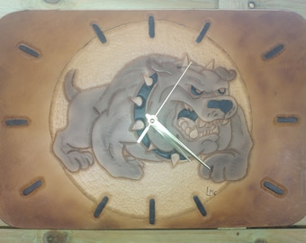 clock leather repel BOULDOGUE