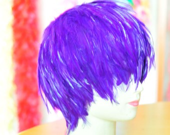 Hackle Feather Wigs Halloween Wigs Costume Wigs Fasted shipped the USA