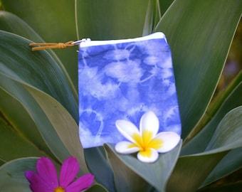 Tie dye coin purse, coin pouch, zipper bag, small bag, wallet, purse