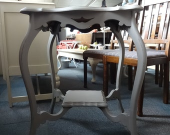 Shabby Chic Antique Lamp Table/ Plant Stand -Sold