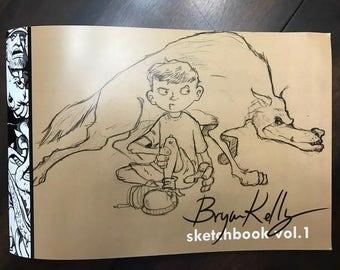 Bryan Kelly sketchbook vol #1