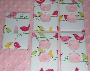 Penelope~ switch plate set of five