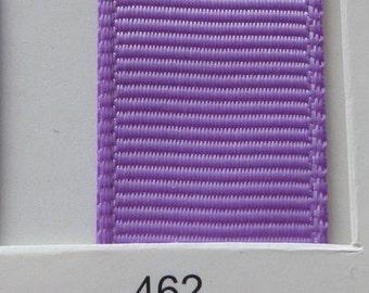 """3/8"""" / 10mm Solid Grosgrain Ribbon HYACINTH #462 X 2 METERS"""