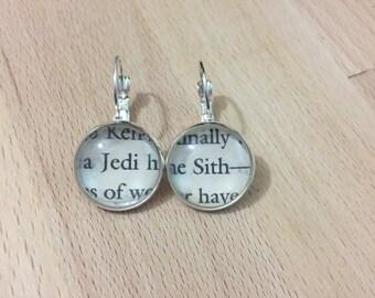 Star Wars Jedi & Sith earrings