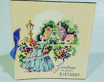 greeting cards  vintage  etsy uk, Birthday card