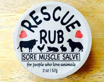 Rescue Rub - Sore Muscles