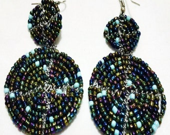 Massai 'Shield' Earrings