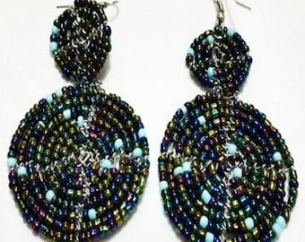 Massai 'Shield' Earrings