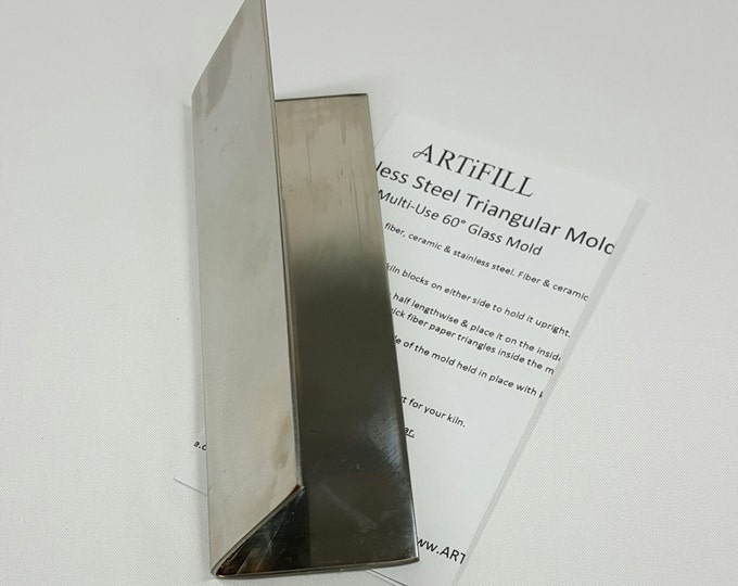 "Triangle Mold 6"" x 60 degree angle TM660"