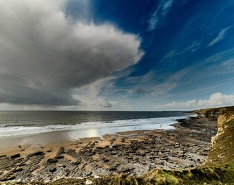 A storm over Southerndown