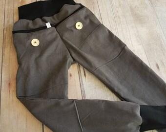 Gray corduroy pants grey black so cool 92-152, corduroy pants, Kids pants, clothing, pants, grey corduroy, boy, baby, baby pants, black, black
