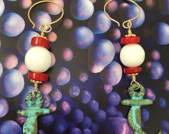 Nautical earrings collection