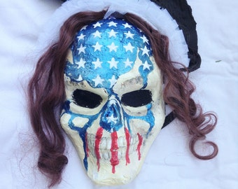 Purge Election Year Evil Flag Face Mask