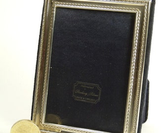 "Vintage Sterling Silver - Photo / Picture FRAME - 3 3/4"" x 2 1/2"" - SF83"