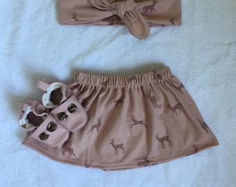 Baby deer skirt