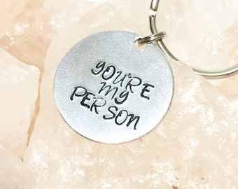 You're My Person, Greys Anatomy, Gift for Her, Best Friend Gift,  Birthday, Anniversary, Gift for Him