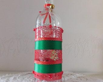 lamp bottle Noël Grelot
