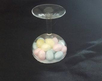 Mini Egg Filled Candle Holder