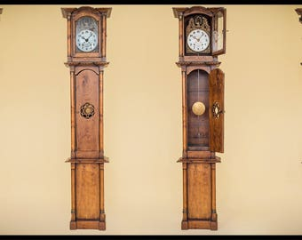 """French Provencial Clock 1800s."""" COMTOISE DUPERE GAILLARD"""""""