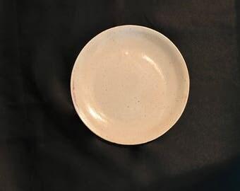 medium white plate