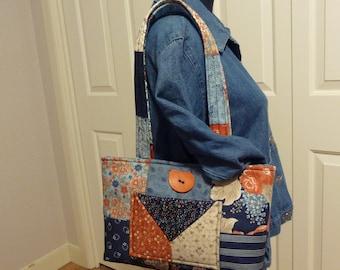 Quilt Square Shoulder Bag