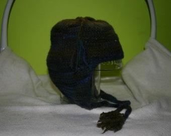 Wool Ear Flap Hat for smaller noggins