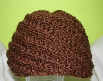 100% Washable Wool Beanie for Men