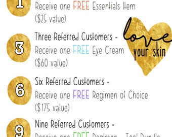 Rodan + Fields Referral Program