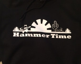 Hammer Time Sunset Hoodie