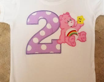 Care Bears Birthday Shirt