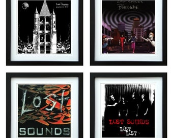Lost Sounds - Framed Album Art - Set of 4 Images
