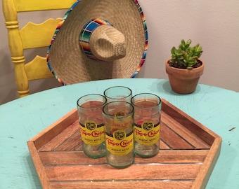 Topo Chico Handcut Cups
