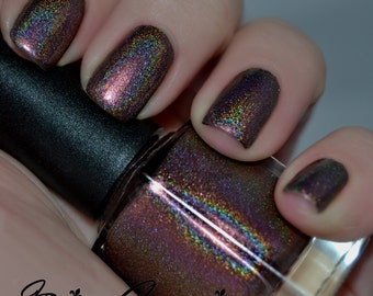 On Fleek - Holo Red Linear Holographic Nail Polish