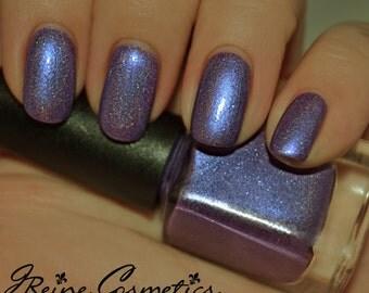 Fat Tuesday - Purple Blue Holographic Nail Polish